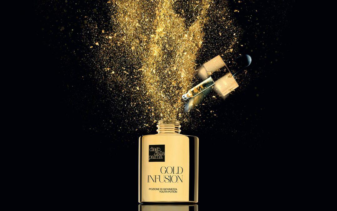 Gold Infusion Diego dalla Palma: la preziosa pozione per la tua giovinezza!